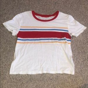 striped pac sun t-shirt